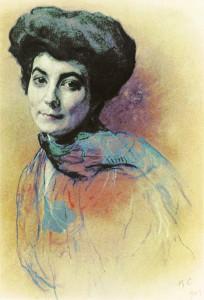 Helena_Roerich_(V._Serov)