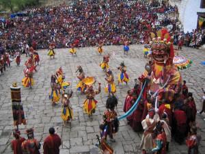 bhutan-festival-Tsechu