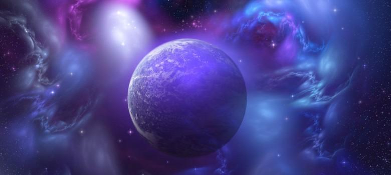 Фиолетовая-планета