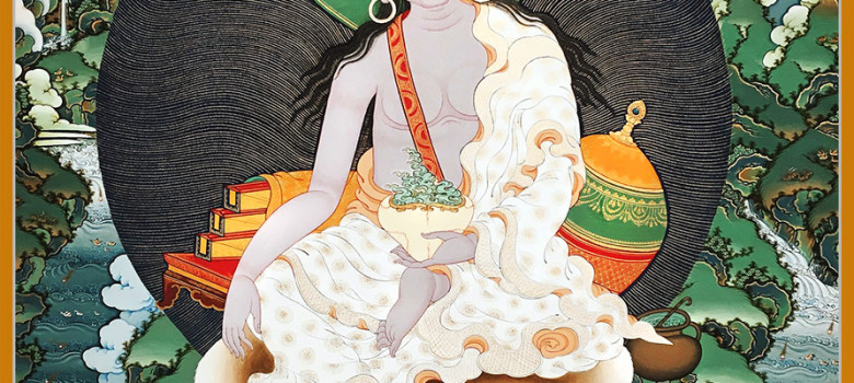 Milarepa-Thankga-Painting
