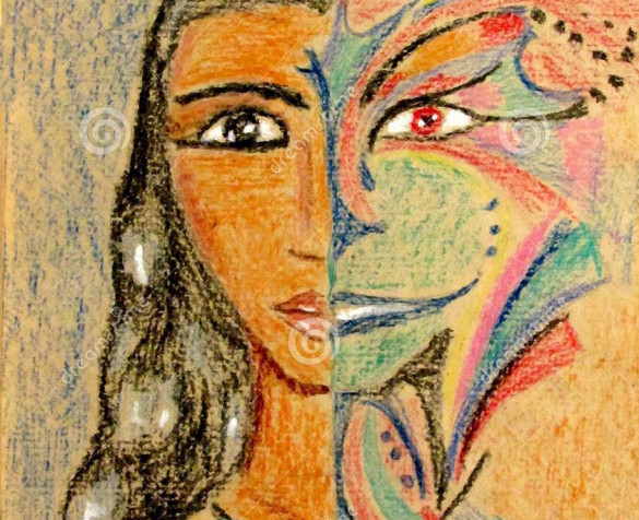 двуличный-человек-знахарь-в-crayon-карандаша-графиков-маски-111165517